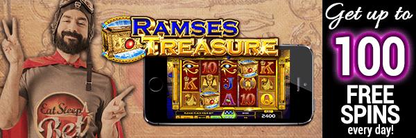 600x200_ESB_Daily_Bonus_100FS_Ramses_Treasure_EN